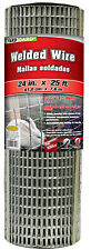 New listing 24-In. x 25-Ft. Galvanized Welded Wire Fence