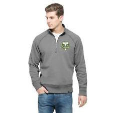 New Licensed MLS Portland Timbers '47 Brand 1/4 Zip Pullover MSP $59 Size S__S84