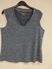 Crivit Sports Lady's Grey XL Zumba Yoga Short Sleeve T-Shirt