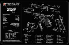 "PISTOL ARMOURERS GUN CLEANING BENCH MAT 11x17"" NEOPRENE TEKMAT for GLOCK GEN 4"