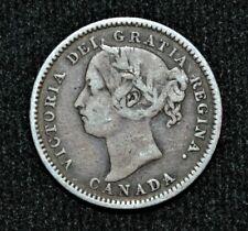 1887 Canada 10 cents Fine
