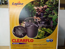 CLEARFLO 700/2500 COMPLETE PUMP AND UV FILTER KIT
