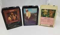 Bread David Gates 8 Track Tapes Lot of 3 Manna Lost Without Love Goodbye Girl