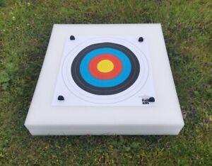 New Lightweight Archery 60x60cm Self Healing Foam Target Boss With 2 Faces