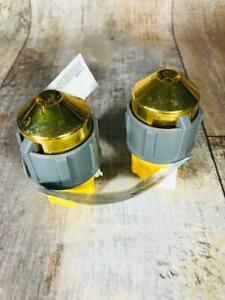 Garden Hose Sweeper Nozzle Heavy Duty Set of 2 New Free Shipping