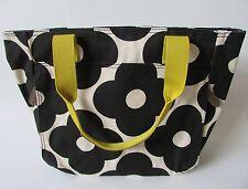 Orla Kiely Tote Bag Black Stem Floral NWOT