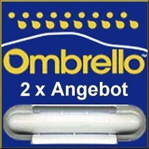 2 x Ombrello Scheibenversiegelung Glasversiegelung mit Anleitung + Infoflyer