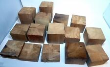 Wood Display Cedar Blocks Multiple Sizes 4 Inch Square Various Heights Lot 15