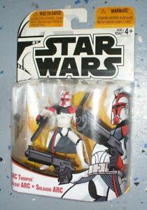 "Rare ! Star Wars Clone Wars Tri Logo 3 3/4"" Figure ARC Trooper - Captain Fordo"