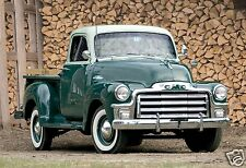 1954 GMC 1500 1/2 Ton Pickup Truck, General Motors, Refrigerator Magnet, 40 MIL