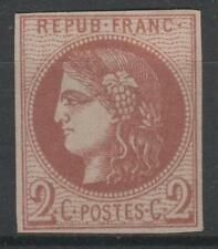 """FRANCE STAMP TIMBRE 40 Bd """" CERES BORDEAUX 2c BRUN-ROUGE FONCE"""" NEUF (x) TB N926"""
