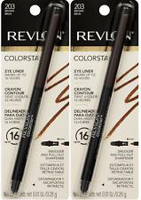 Lot of 2, Revlon Colorstay 16 Hr Eye Liner, 203 Brown!