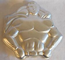 SUPERMAN BATMAN 1977 Wilton Cake Pan Mold 502-1212 DC Comics Super Hero