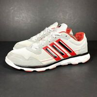 Adidas Flyby M Mens Soccer Football Running Shoes Trainers Black White Red UK 9