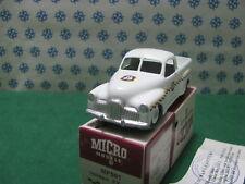 Vintage  Micro Models -  HOLDEN  FX  Coupè Utility   MP501   -   MIB