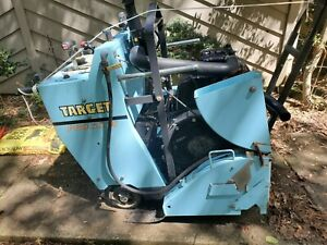Target PRO35III diesel concrete saw. Excellent condition, very low hour