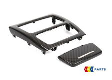 BMW NEW GENUINE 3 E92 E93 REAR CENTER CONSOLE COVER TRIM CARBON FIBER 0429861