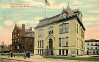 Schenectady New York~Dormers on City Hall And Annex~1914 PC