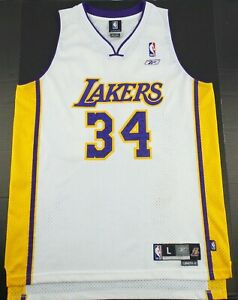 Vintage Reebok Los Angeles Lakers Shaquille O'Neal Basketball JerseySize Men's L
