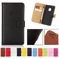 Genuine Leather Flip Wallet case Cover For LG V30 V20 Q6 G5 G6 K4 K8 K10 2018