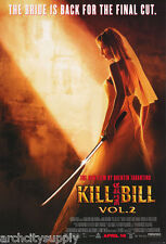 Poster:Movie Repro: Kill Bill - The Bride Is Back - Free Ship #Pp30050 Rw9 C