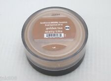 BARE ESCENTUALS bare Minerals Foundation * GOLDEN TAN W30 * 8g Click Lock Go NEW