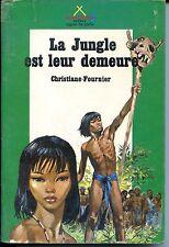 SAFARI SIGNE DE PISTE N°28 LA JUNGLE EST LEUR DEMEURE - SCOUTS - JOUBERT b