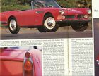 1959 BMW 507 ROADSTER 3 Page Color Article
