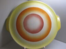 alte Spritzdekor Keramik Tortenplatte Kuchenplatte Kuchenteller  Art Deco