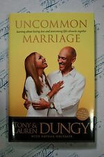 Tony Dungy and Lauren Dungy SIGNED Book Uncommon Marriage First Edition w/ COA