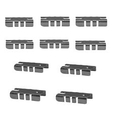 Glass Wood Metal Shelves Gridwall Display Fixture Glass Shelf Rest Clips 10 Pc