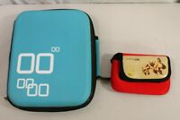 Nintendo DS Lite/DSi/3DS Travel Carrying Case Storage Bag Lot Of 2 Donkey Kong