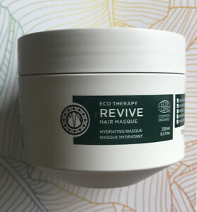Maria Nila Eco Therapy Revive Hair Masque Mask Full Size 250ml Brand New