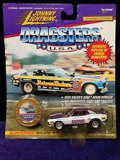 Johnny Lightening Dragsters 72 Color Me Gone Die Cast Car w/ Token (Lot R4)