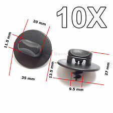 10X Floor Mat Clips,Twist Lock Fasteners, for Volkswagen, VW, AUDI, SKODA, SEAT
