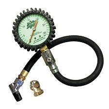 JOES Racing Products 32306 Analog Tire Pressure Gauge 0-30 PSI GLOW IN THE DARK