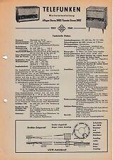Service Manual-Anleitung für Telefunken Allegro Stereo 2082,Sonata Stereo 2082