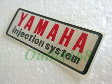 Yamaha Mate U5E U7 AS1 YL2 Oil Tank Frame Decal Sticker Emblem Injection System