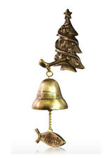 CHRISTMAS TREE CASTING DOOR BELL_ BRONZE CASTING WIND CHIMES _HANGING BELL