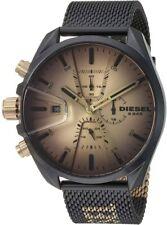 Diesel Men's MS9 DZ4517 48mm Gold Sunray Dial Stainless Steel Watch