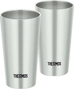 Thermos Vacuum Insulation Tumbler Set of 2JDI-300P S Stainless 300ml Japan