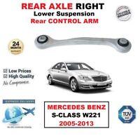Asse Post. Dx Inferiore Posteriore Braccio Controllo per Mercedes Benz S W221