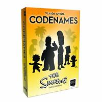 Codenames The Simpsons Edition Board Game Czech CE006025 Family Party USAopoly