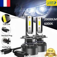 Mini 110W H1 voiture LED lampe de phare ampoule Kit Globe haut ou bas 30000LM