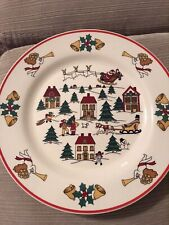 THE JOY OF CHRISTMAS BY JAMESTOWN CHINA  DINNER PLATE