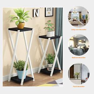 Tall Metal Plant Pot Stand Holder Indoor Outdoor Garden Flower Display 100cm
