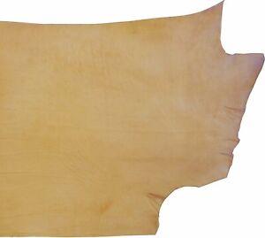 ELW Leather Company's Full Grain Veg Tan Double Shoulder Cowhide