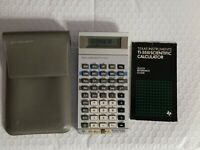 Texas Instrument TI-55 III 1984 Scientific Programmable Calculator w Case Tested