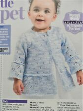 GIRL'S CARDIGAN JACKET ~ Sizes 6 - 24 months ~ Knitting Pattern ~ NEW