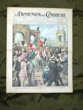 La Domenica del Corriere 21 Maggio 1911 Ciclismo Roma Teatro Edimburgo G. d'Arco